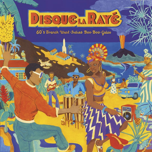 Disque La Raye: 60'S French West-Indies Boo / Var CD