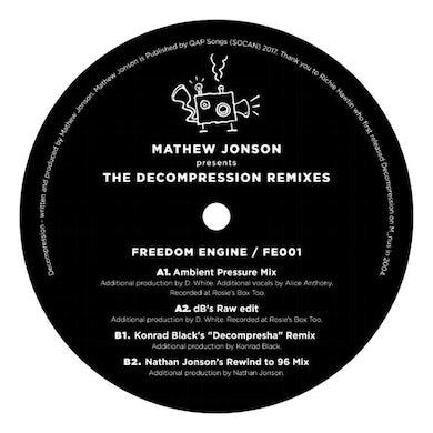 Mathew Jonson PRESENTS THE DECOMPRESSION REMIXES Vinyl Record
