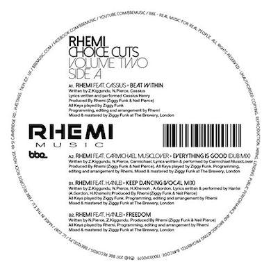 Rhemi CHOICE CUTS VOL 2 Vinyl Record