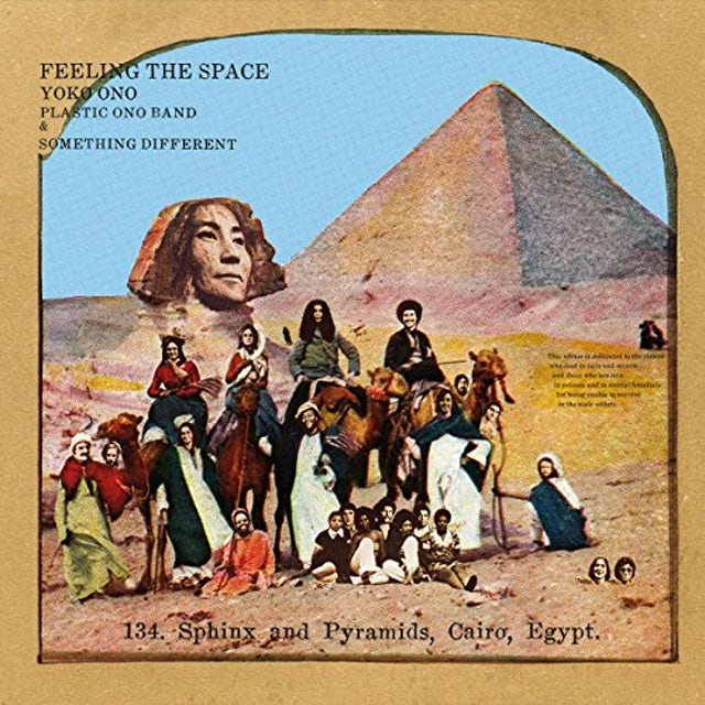 Yoko Ono FEELING THE SPACE (WHITE VINYL) Vinyl Record