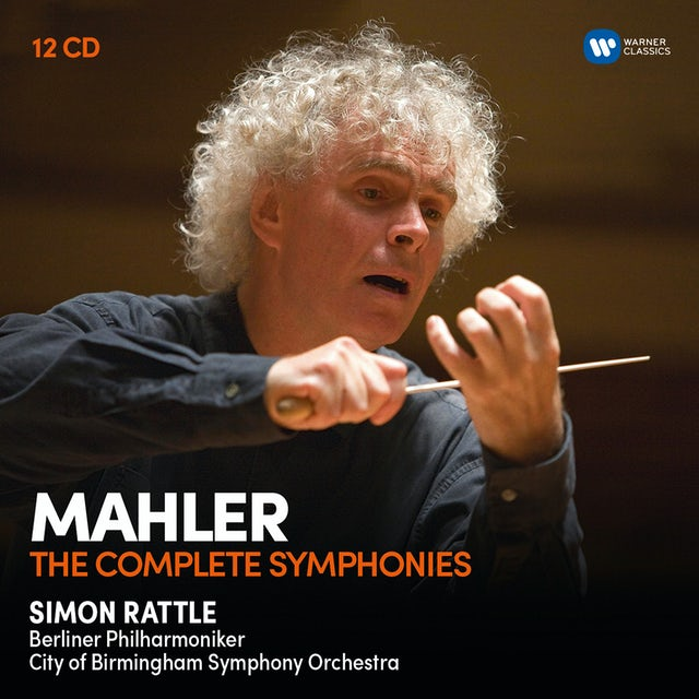 Simon Rattle MAHLER: THE SYMPHONIES CD