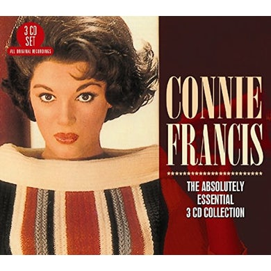 Connie Francis ABSOLUTELY ESSENTIAL 3CD COLLECTION CD