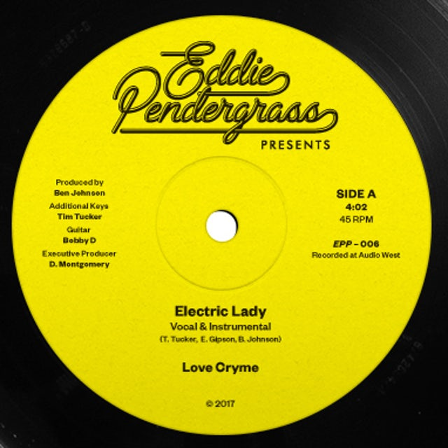 Love Cryme ELECTRIC LADY / UNDER THE N FLUENCE Vinyl Record