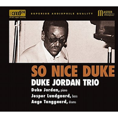 Duke Jordan SO NICE DUKE Vinyl Record