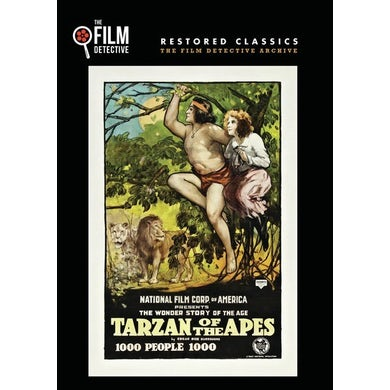 TARZAN OF THE APES DVD