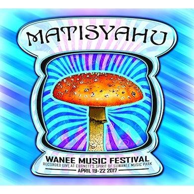 Matisyahu LIVE AT WANEE 2017 CD