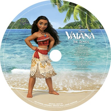 MOANA (PICTURE DISC) / O.S.T. Vinyl Record - Picture Disc, Holland Release