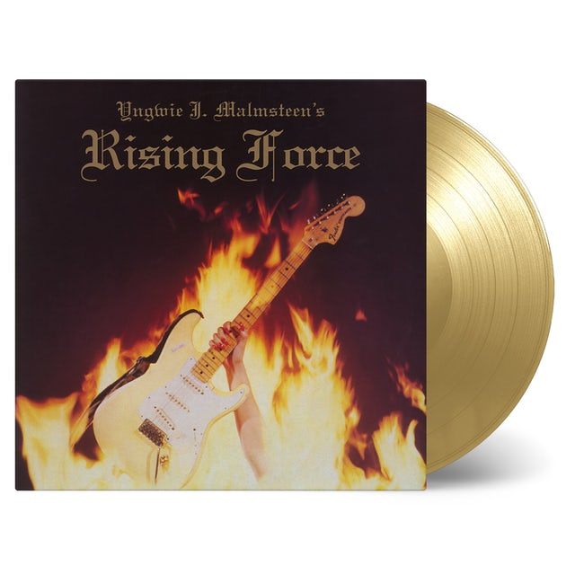 Yngwie Malmsteen RISING FORCE Vinyl Record