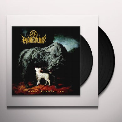 Thy Art Is Murder DEAR DESOLATION Vinyl Record - Gray Vinyl, Limited Edition, White Vinyl