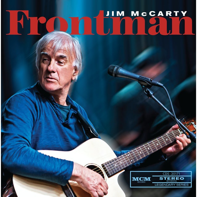 Jim McCarty FRONTMAN CD