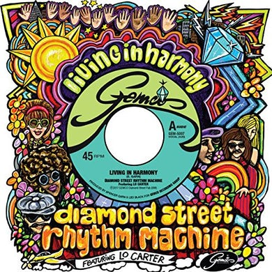 Diamond Street Rhythm Machine LIVING IN HARMONY Vinyl Record