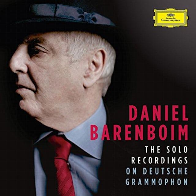 Daniel Barenboim SOLO PIANO RECORDINGS ON DEUTSCHE GRAMMOPHON CD