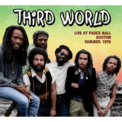 Third World LIVE AT PAUL'S MALL: SUMMER 1976 CD