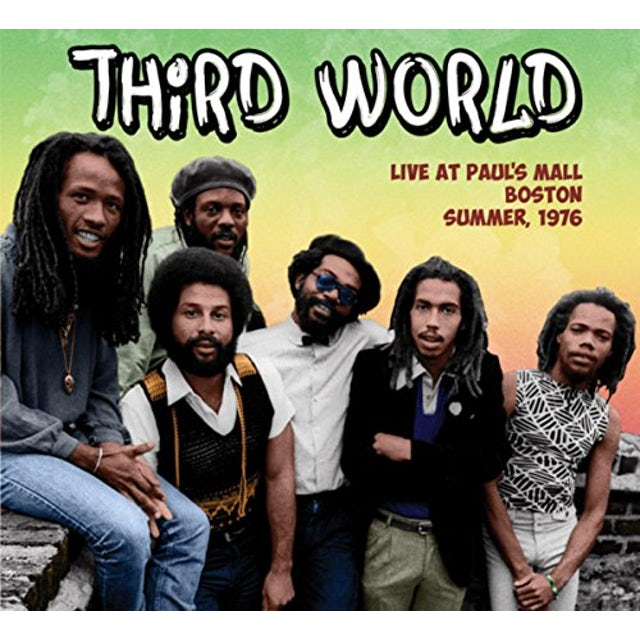 Third World LIVE AT PAUL'S MALL: SUMMER 1976 CD