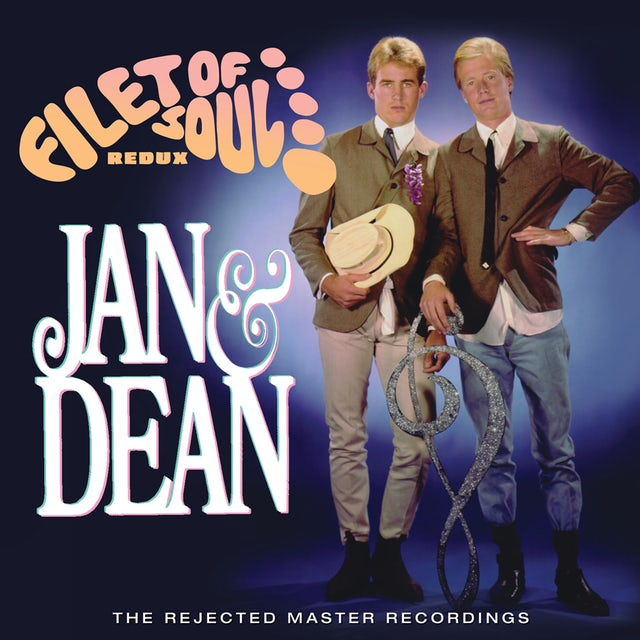 Jan & Dean FILET OF SOUL REDUX: REJECTED MASTER RECORDINGS CD