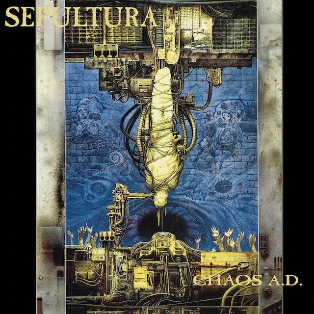 Sepultura CHAOS A.D. Vinyl Record