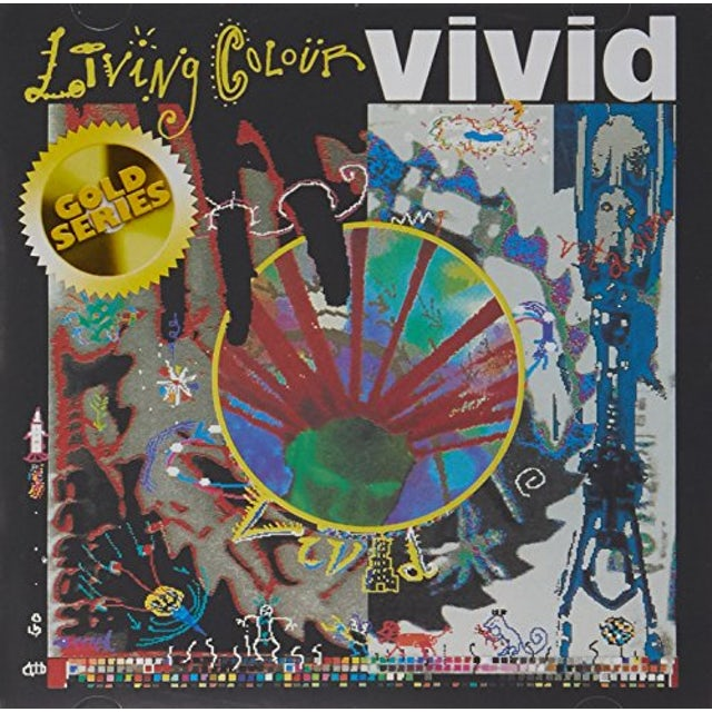 Living Colour VIVID (GOLD SERIES) CD