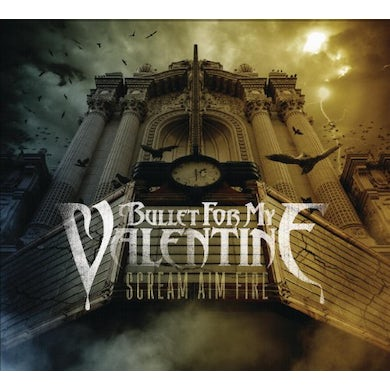 Bullet For My Valentine SCREAM AIM FIRE (GOLD SERIES) CD