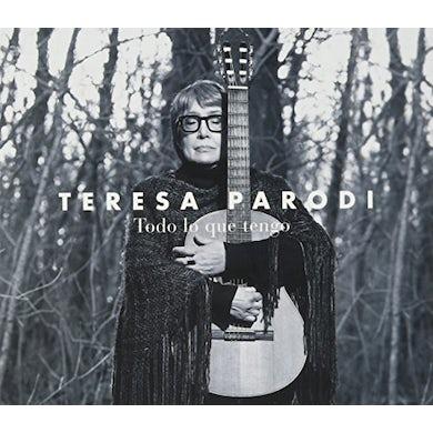 Teresa Parodi TODO LO QUE TENGO CD