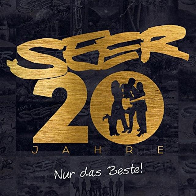 Seer 20 JAHRE: NUR DAS BESTE CD