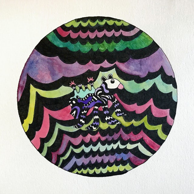 Angelo De Augustine SWIM INSIDE THE MOON Vinyl Record