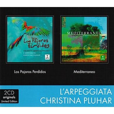 Christina Pluhar 2CD PAJAROS PERD.-MEDITERRANEO CD