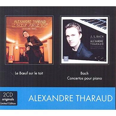 Alexandre Tharaud 2CD BOEUF SUR LE TOIT & BACH CD