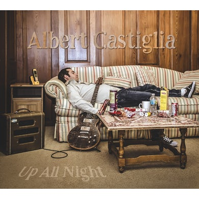 Albert Castiglia UP ALL NIGHT CD