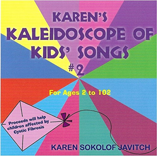 Karen Sokolof Javitch KAREN'S KALEIDOSCOPE OF KIDS SONGS 2 CD