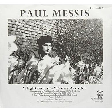 Paul Messis NIGHTMARES / PENNY ARCADE Vinyl Record