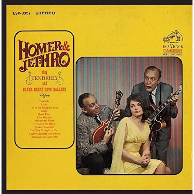 Homer & Jethro SING TENDERLY & OTHER GREAT LOVE BALLADS CD