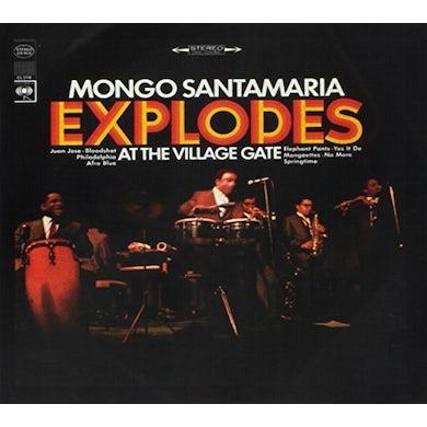Mongo Santamaria EXPLODES AT THE VILLAGE GATE CD