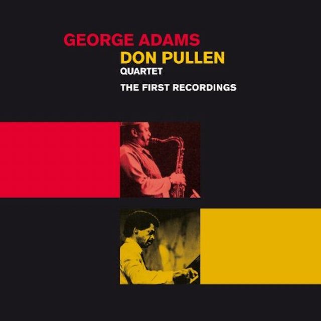 George Adams QUARTET: FIRST RECORDINGS CD