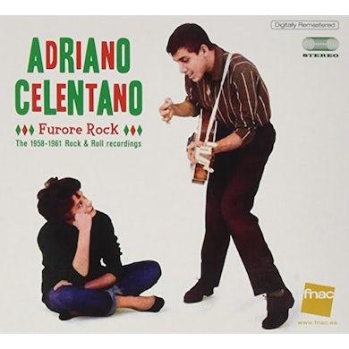 Adriano Celentano FURORE ROCK: 1958-1961 ROCK & ROLL RECORDINGS CD