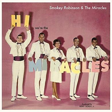 Smokey Robinson  HI WE'RE THE MIRACLES + 5 BONUS TRACKS Vinyl Record