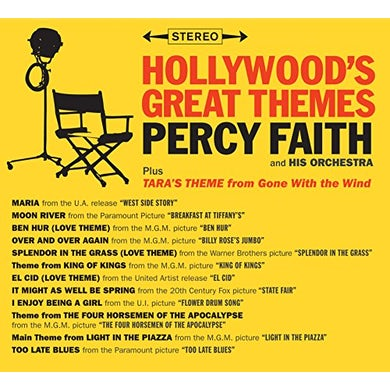 Percy Faith HOLLYWOOD GREAT THEMES / TARA'S THEME FROM GONE CD