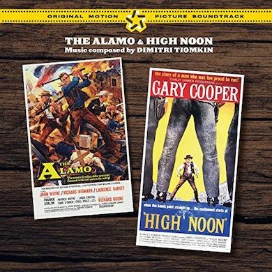 Dimitri Tiomkin ALAMO / HIGH NOON + 2 BONUS TRACKS / Original Soundtrack CD