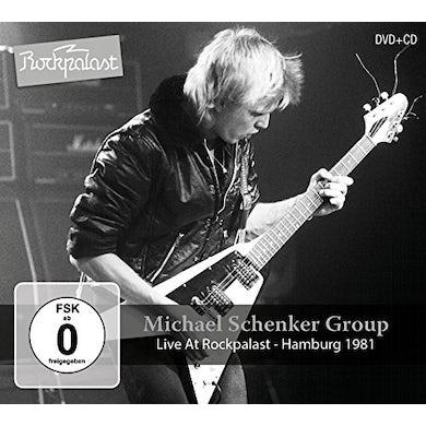 The Michael Schenker Group LIVE AT ROCKPALAST: HAMBURG 1981 CD