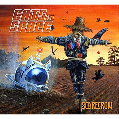 CATS IN SPACE SCARECROW CD