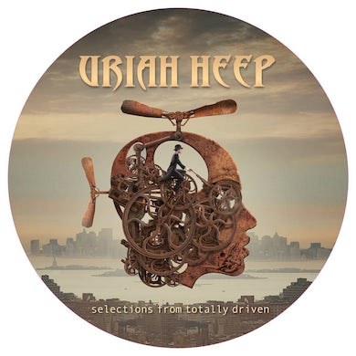 Uriah Heep SELECTIONS FROM TOTALLY DRIVEN (PICTURE DISC) Vinyl Record