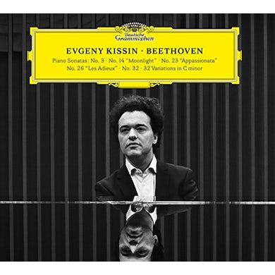 Evgeny Kissin BEETHOVEN (PIANO SONATAS NO 3 14 23 26 32) CD