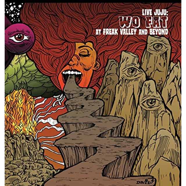 Wo Fat LIVE JUJU: FREAK VALLEY AND BEYOND Vinyl Record
