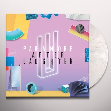 Paramore AFTER LAUGHTER - Limited Edition White Marbled Colored Vinyl Record