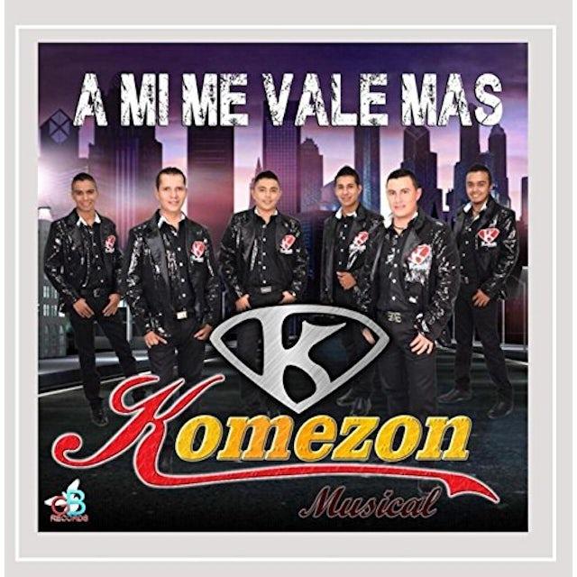 Komezon Musical MI ME VALE MAS CD