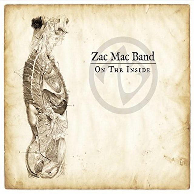 Zac Mac Band ON THE INSIDE CD