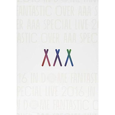 AAA SPECIAL LIVE 2016 IN DOME: FANTASTIC OVER DVD