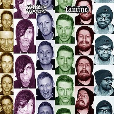 Famine / Art Of Burning Water SPLIT Vinyl Record