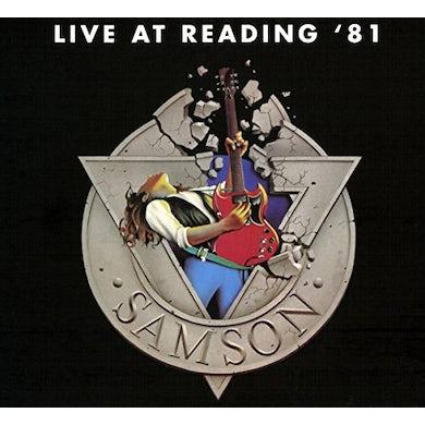 Samson LIVE AT READING 81 Vinyl Record