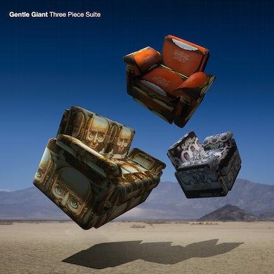 Gentle Giant THREE PIECE SUITE (STEVEN WILSON MIX/ 180G GATEFOL Vinyl Record