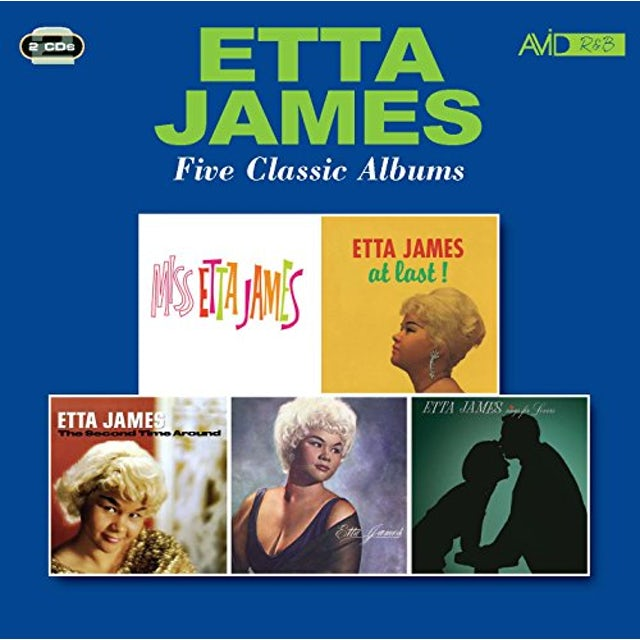 Etta James AT LAST / SECOND TIME AROUND / SINGS FOR LOVERS CD